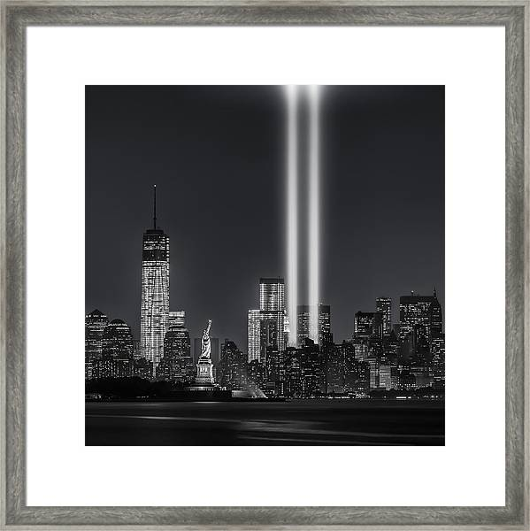 12 Years Later Framed Print