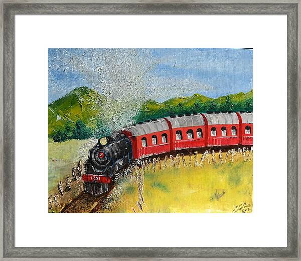 1271 Steam Engine Framed Print
