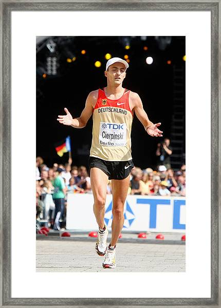 12th Iaaf World Athletics Championships - Day Eight Framed Print by Alexander Hassenstein