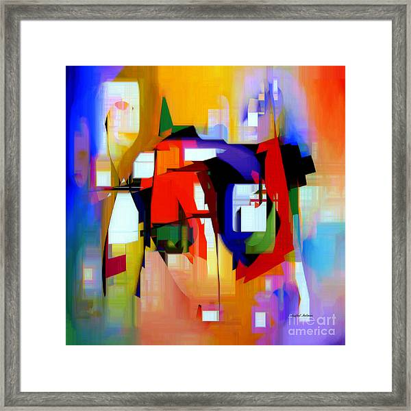 Abstract Series Iv Framed Print