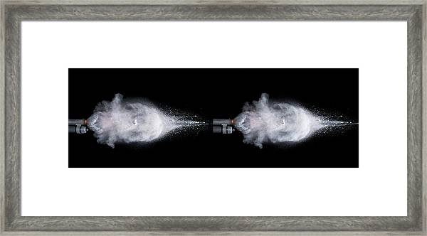 Shotgun Shot Framed Print