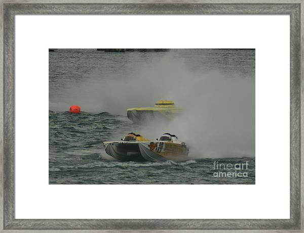 Port Huron Sarnia International Offshore Powerboat Race Framed Print