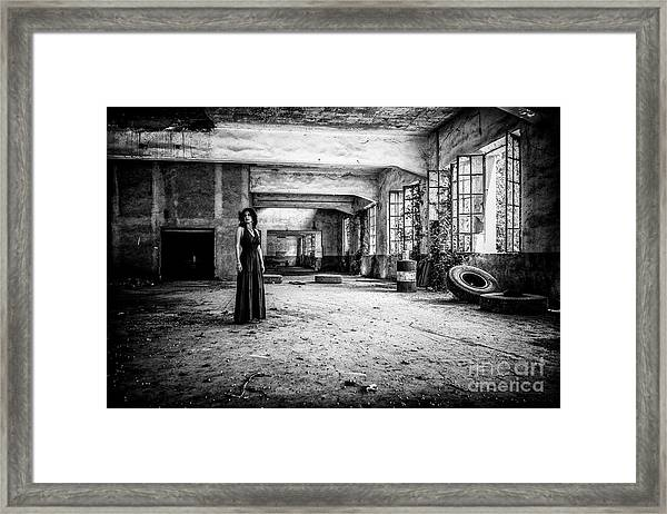 This Is The Way Step Inside Framed Print