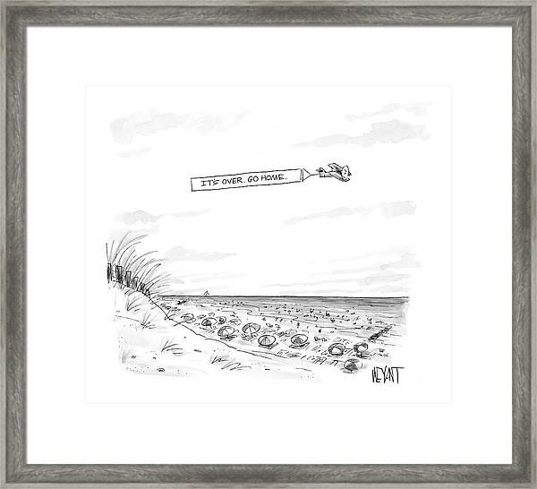 New Yorker September 12th, 2005 Framed Print