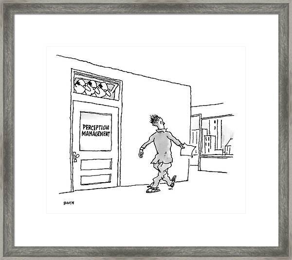 New Yorker April 24th, 2006 Framed Print