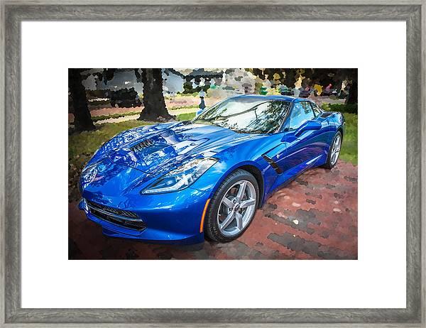 2014 Chevrolet Corvette C7 Framed Print