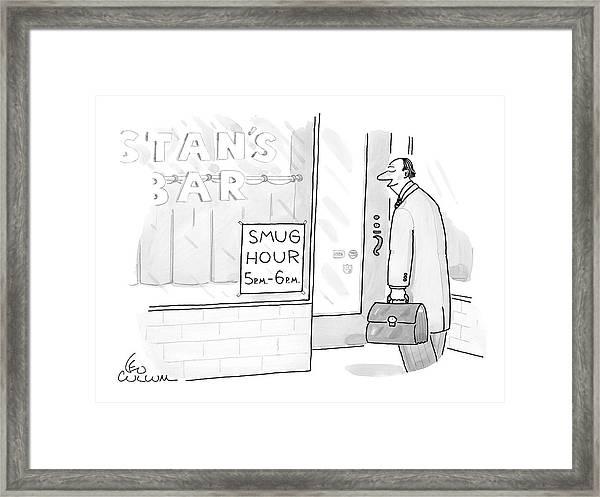 New Yorker July 25th, 2005 Framed Print