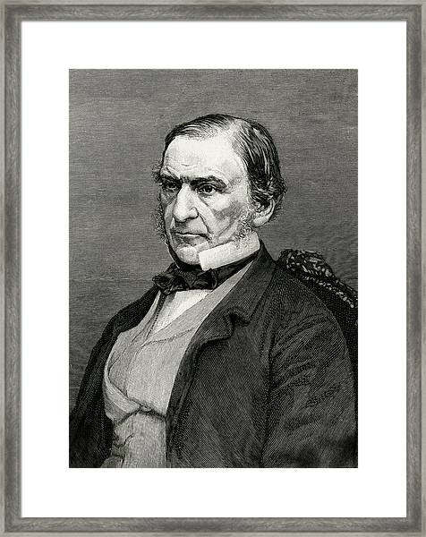 William Ewart Gladstone  British Framed Print by Mary Evans Picture Library