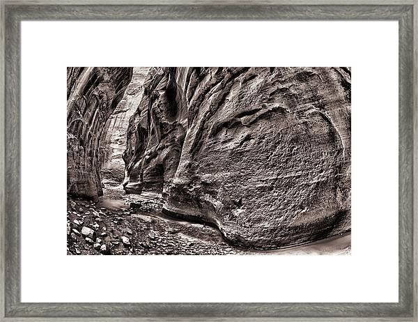 1500 Feet Tall Bn Framed Print by Juan Carlos Diaz Parra