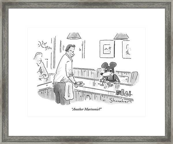 Another Martoonie? Framed Print