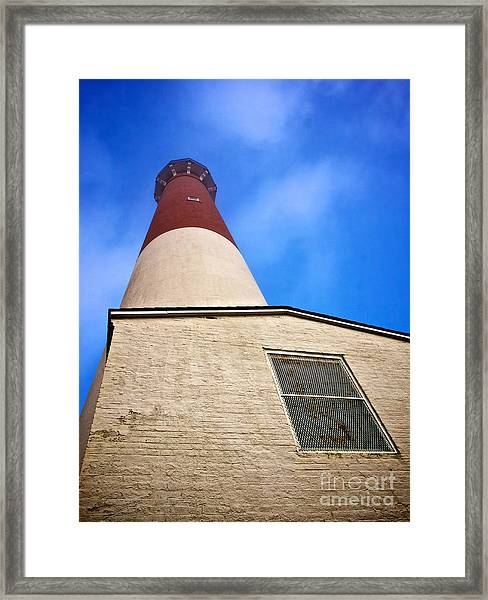 163 Feet Into The Clouds - Color Version Framed Print