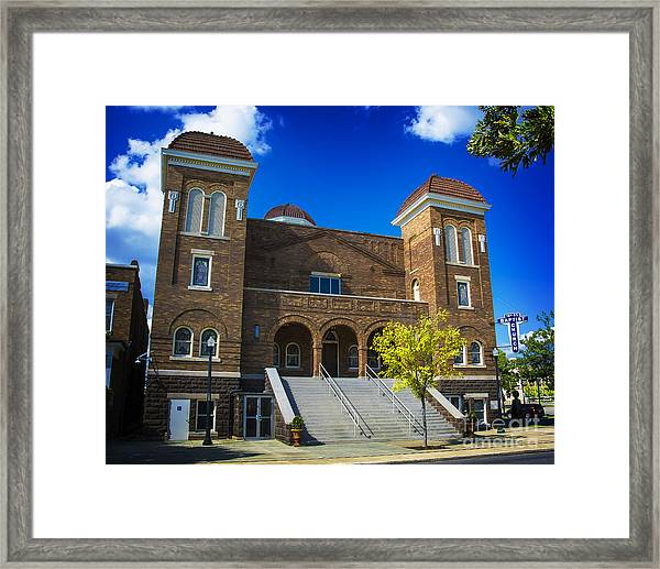16th Street Baptist Church Framed Print