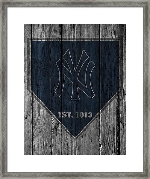 New York Yankees Framed Print