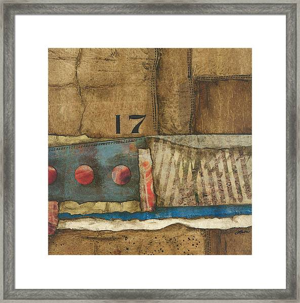 17 Straights In The River Framed Print