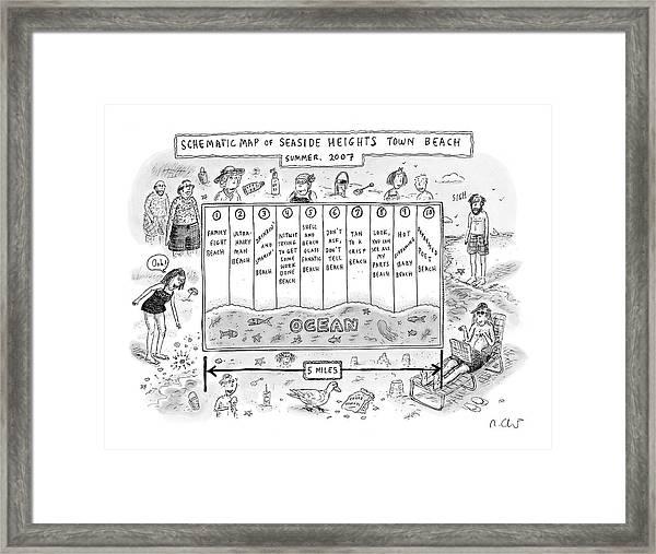 New Yorker July 30th, 2007 Framed Print