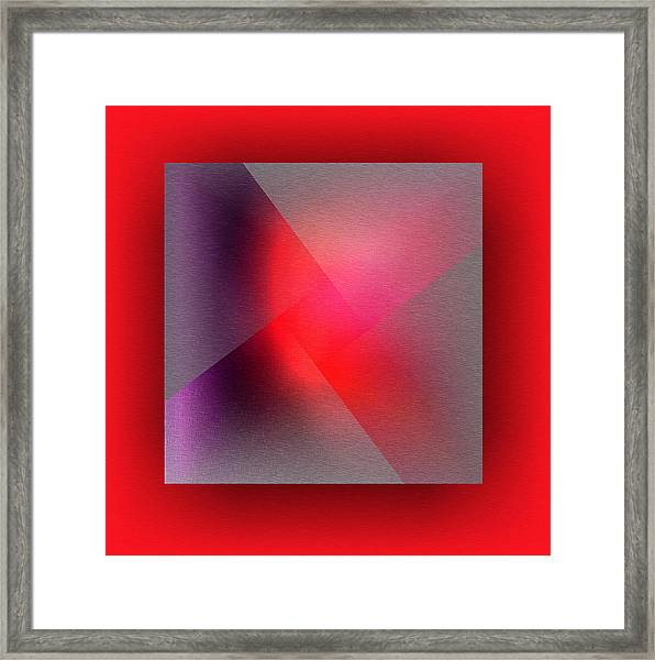 Framed Print featuring the digital art Color Recycling by Mihaela Stancu