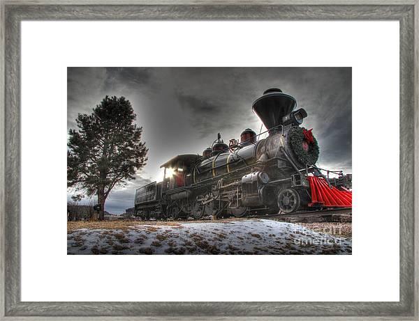1880 Train Framed Print