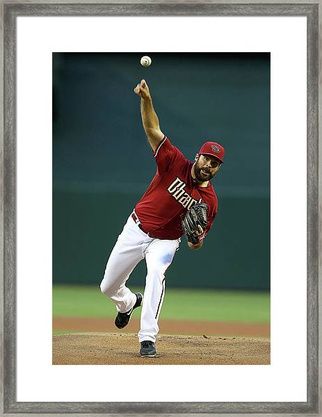 Colorado Rockies V Arizona Diamondbacks Framed Print