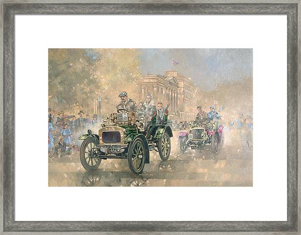 1904 Norfolk  Framed Print