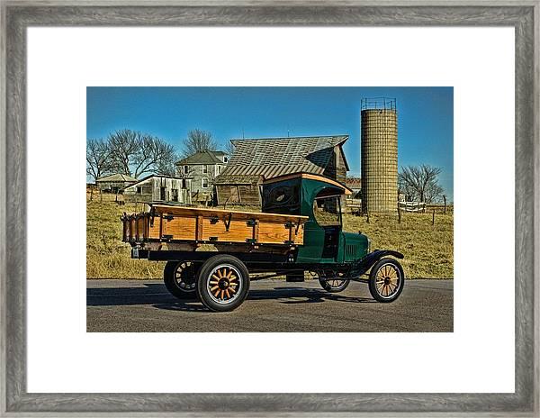 1923 Ford Model Tt One Ton Truck Framed Print