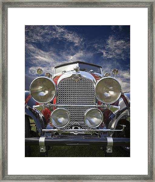 1928 Auburn Model 8-88 Speedster Framed Print