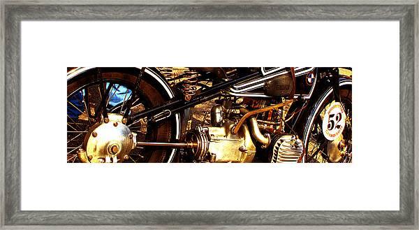 1928 Bmw Canonball Contender Framed Print