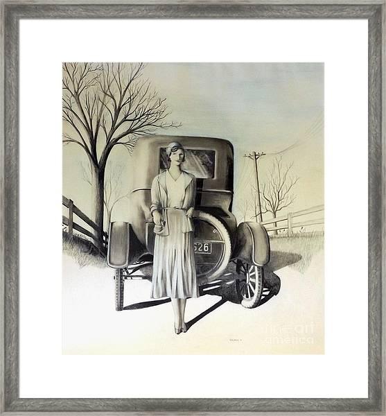 1928 Framed Print