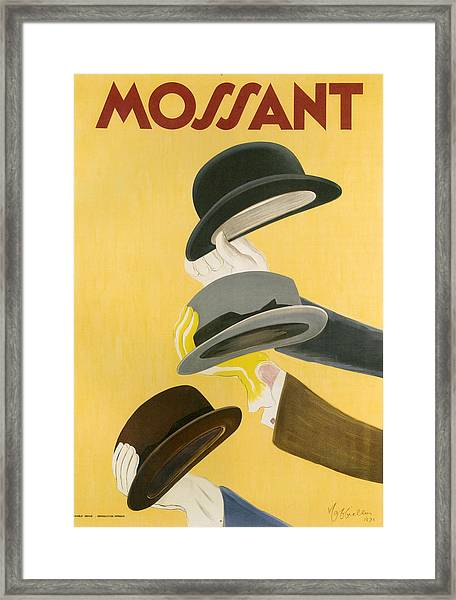 1930s France Mossant Poster Framed Print by The Advertising Archives
