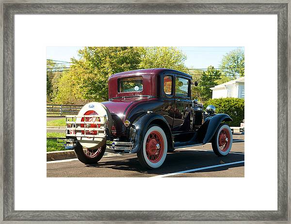 1931 Ford Model A Coupe Framed Print