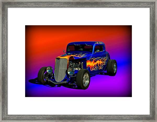 1933 Ford High Boy Hot Rod Framed Print