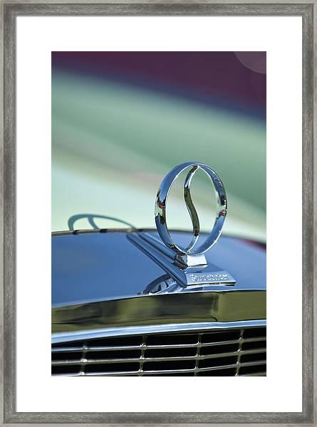 1934 Studebaker Hood Ornament Framed Print