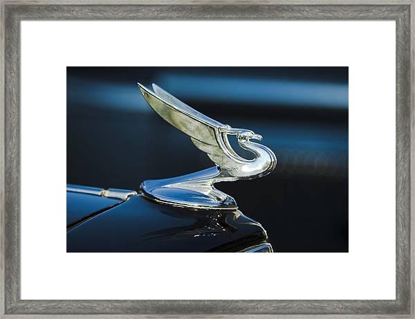 1935 Chevrolet Sedan Hood Ornament Framed Print