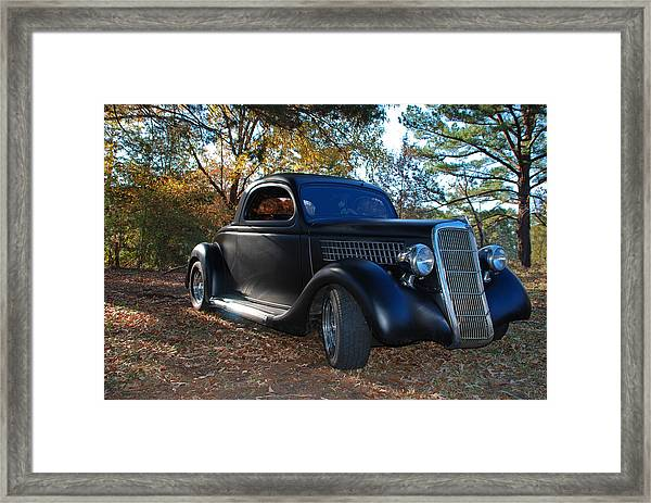 1935 Ford Coupe Framed Print
