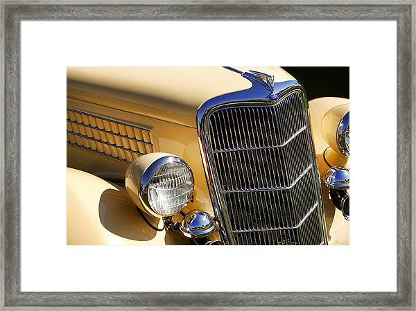 1935 Ford Deluxe Station Wagon Framed Print