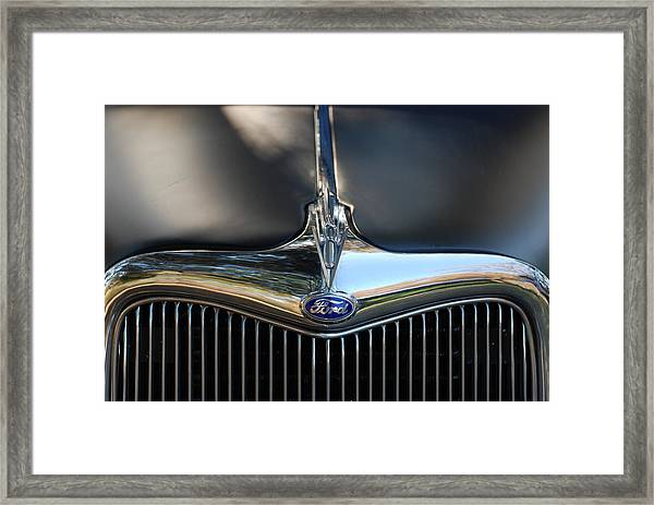 1935 Ford Grill Framed Print