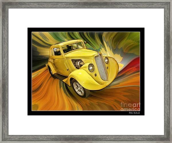 1936 Willys Framed Print