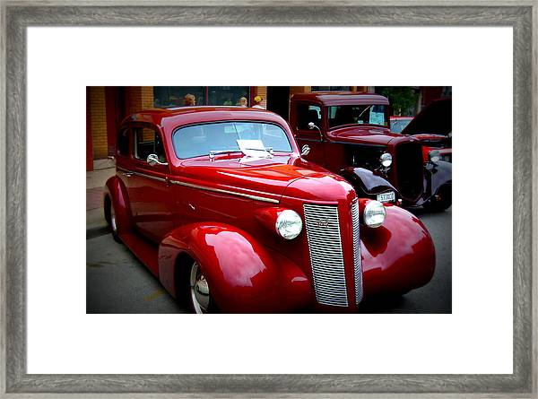 1937 Buick 8 Framed Print by Willy  Nelson