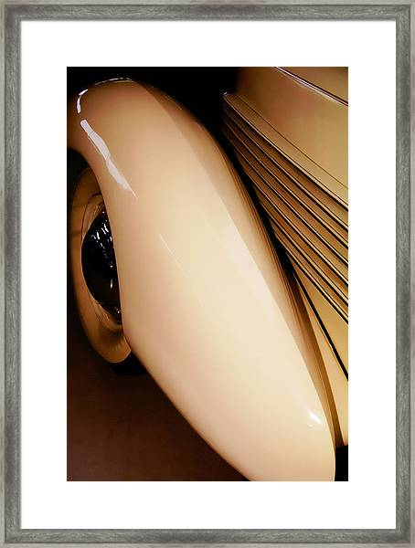 1937 Cord Winchester Framed Print