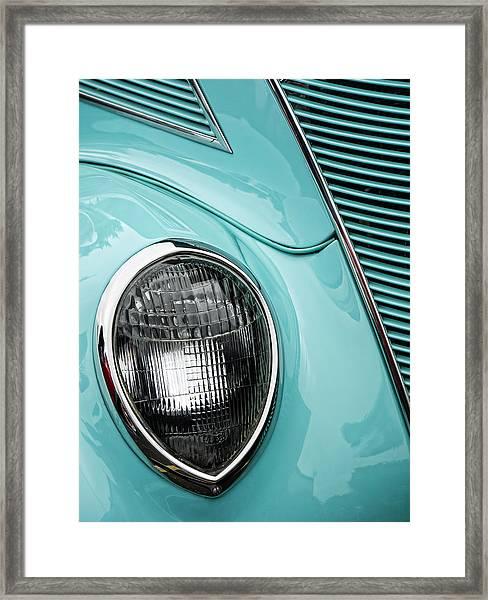 1937 Ford Sedan Slantback Framed Print