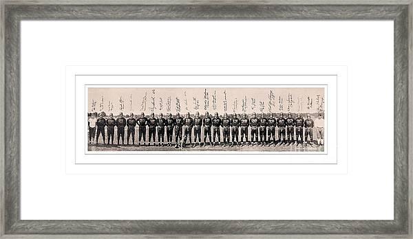 1937 Washington Redskins Team Photo Framed Print by Unknown