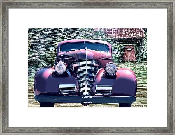 1939 Chevy Immenent Front Original Framed Print