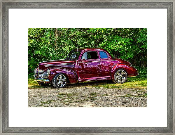 Framed Print featuring the photograph 1939 Studebaker Champion by Barry Jones