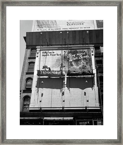 1940s 1945 New York City Sign Painters Framed Print