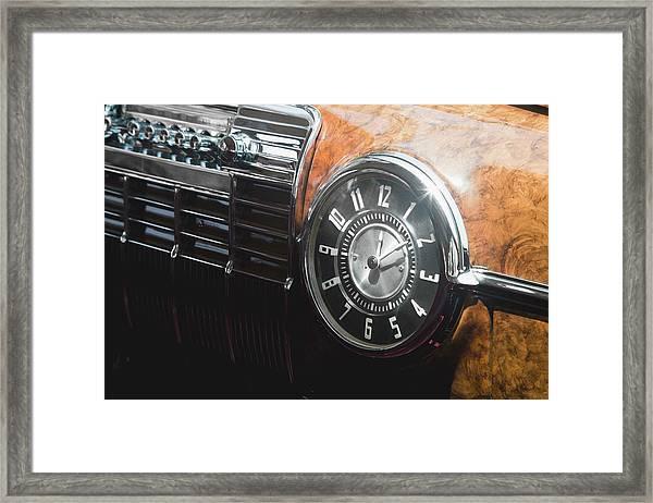1941 Cadillac Series 62 Convertible Framed Print