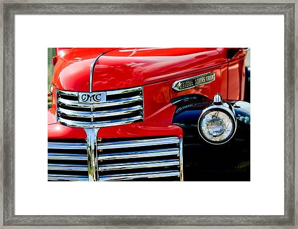 1942 Gmc  Pickup Truck Framed Print