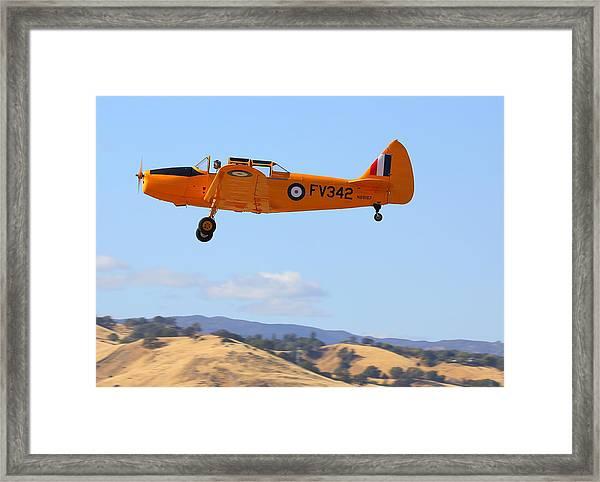1943 Fairchild M62a-3 On Climb-out N69167 Framed Print by John King