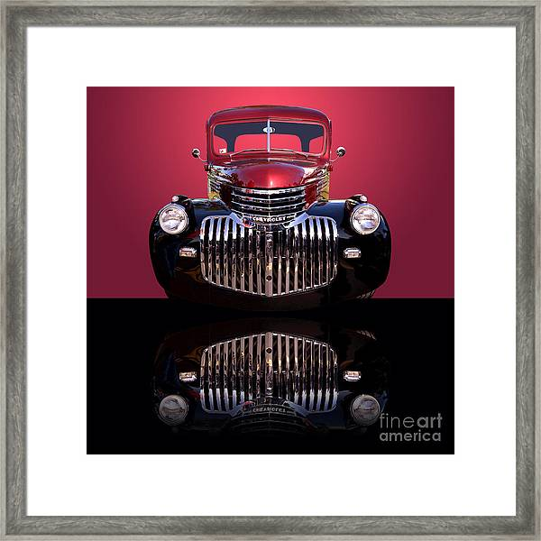 1946 Chevy Panel Truck Framed Print