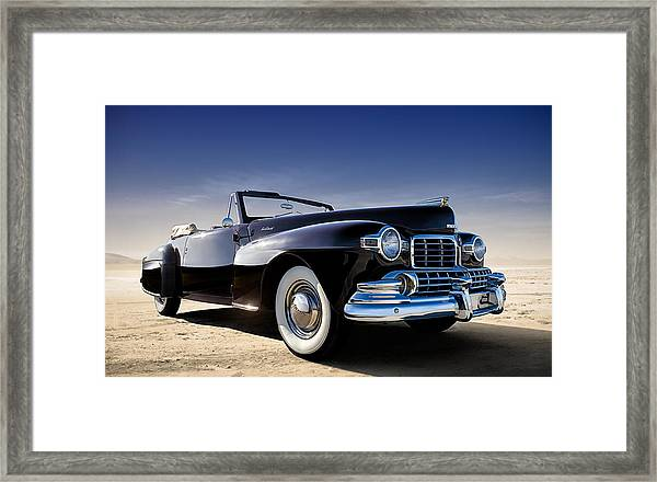 1947 Lincoln Continental Framed Print