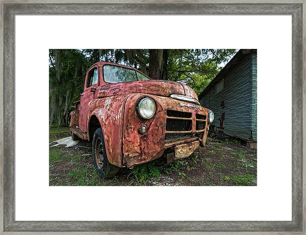 1948 Dodge Pickup Framed Print