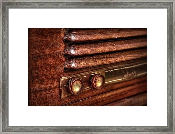 1948 Mantola Radio Framed Print